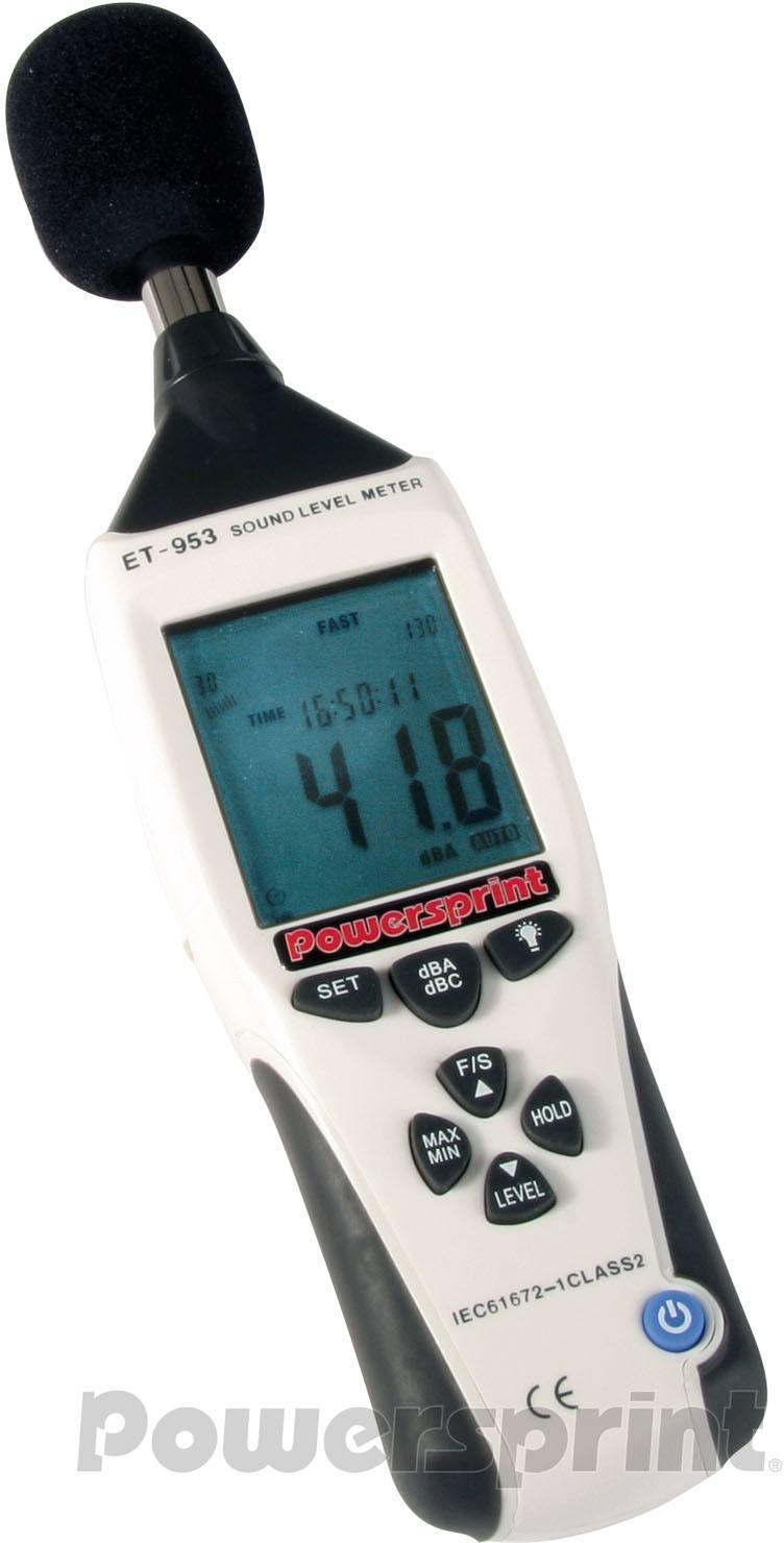 Powersprint Schallpegel-Messgerät