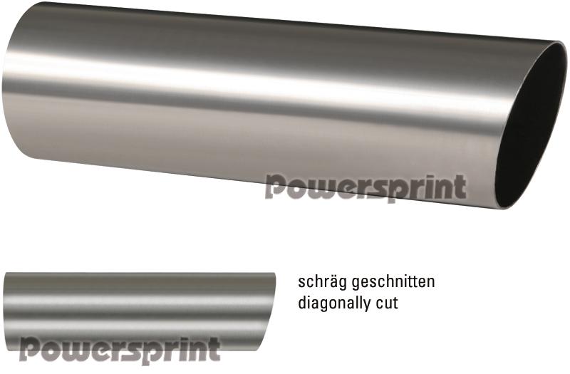 Powersprint Edelstahl Auspuff Endrohre