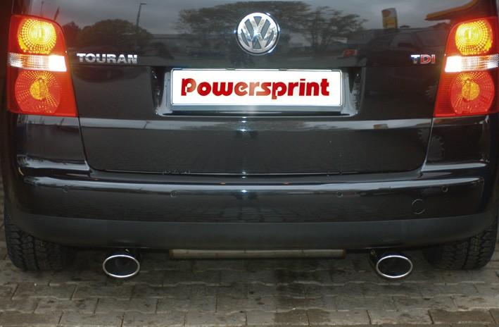 Powersprint Links/Rechts Anlage