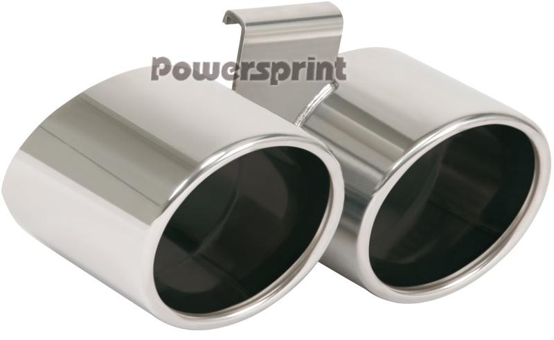 Powersprint Endrohre Edelstahl poliert (999633)