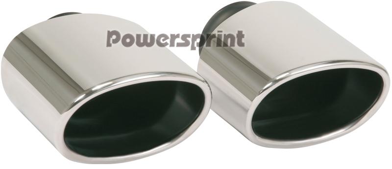 Powersprint Endrohre Edelstahl poliert (999600)
